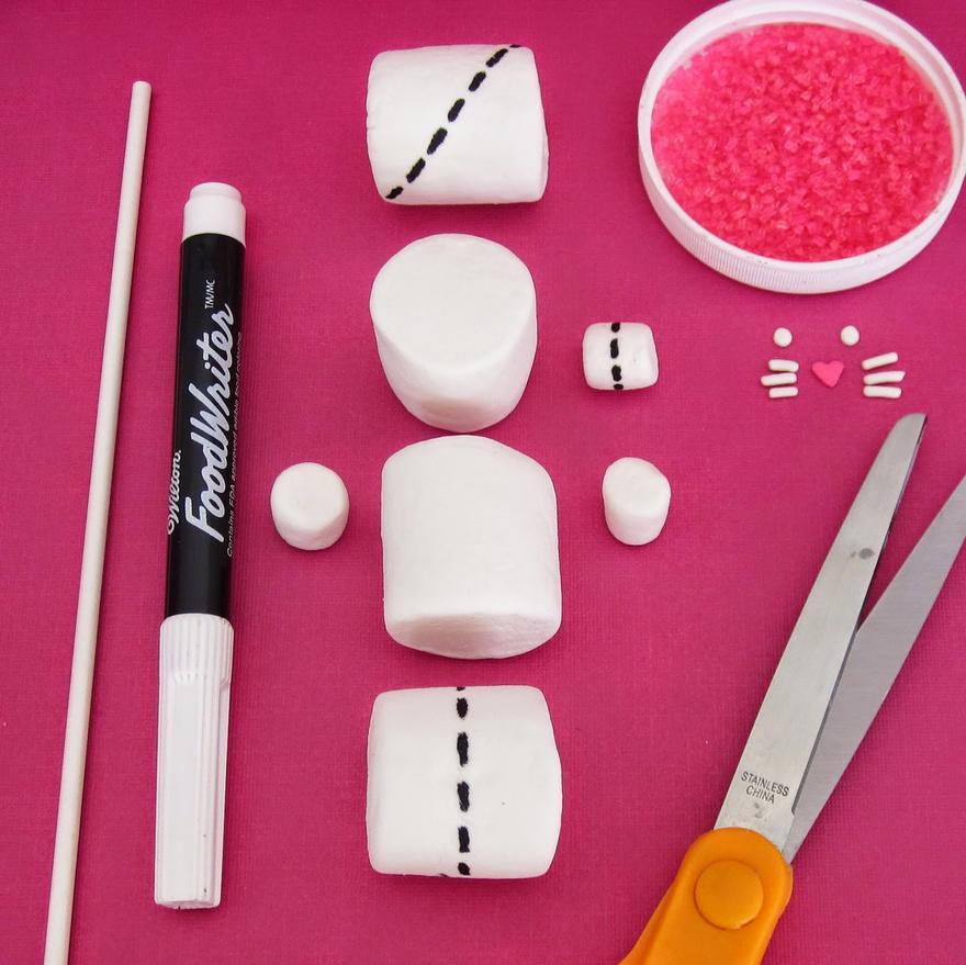 Eccezionale 3 semplici idee per realizzare i tuoi spiedini di marshmallow  RY41