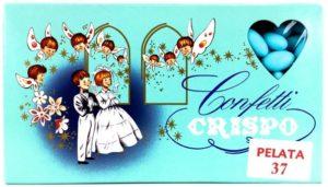 confetti all'ingrosso crispo battesimo azzurri
