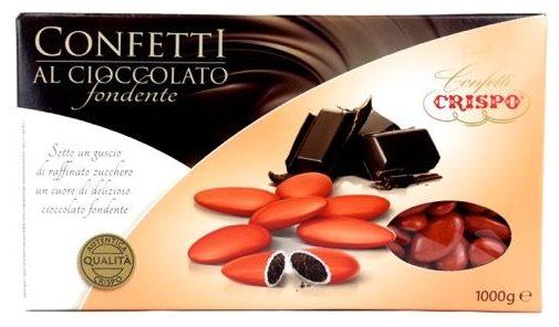 confetti all'ingrosso crispo cioccolato rossi