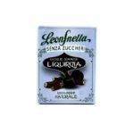 caramelle senza zucchero leonsnella astuccio gusto liquirizia