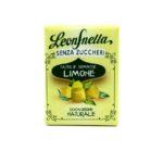 caramelle senza zucchero leonsnella astuccio gusto limone