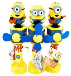giocattoli con caramelle all'ingrosso: ventilatore con caramelle Minions
