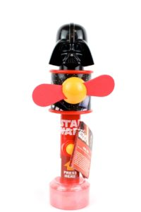 ventilatore con caramelle topper Darth Vader