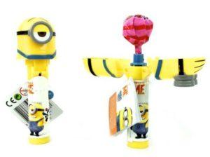 giocattoli con caramelle all'ingrosso: pop ups lollipop Minions