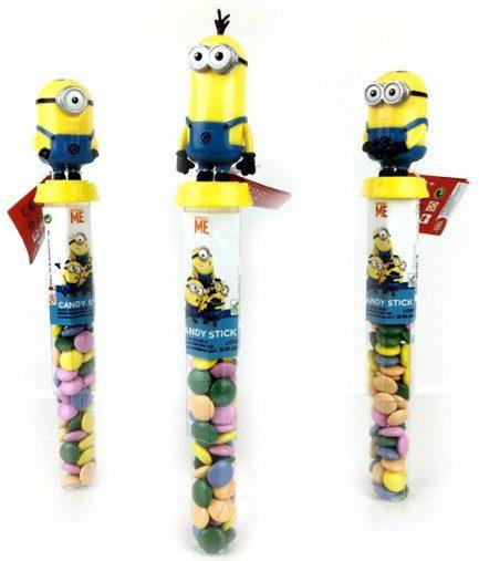 giocattoli con caramelle all'ingrosso: candy sticks Minions