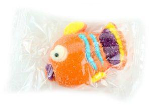Soggetti di marshmallow 3D: pesciolino di scogliera arancione