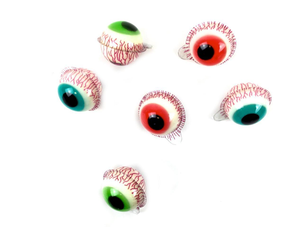 Dolciumi Halloween all'ingrosso: occhi gommosi ripieni gusto extra acido
