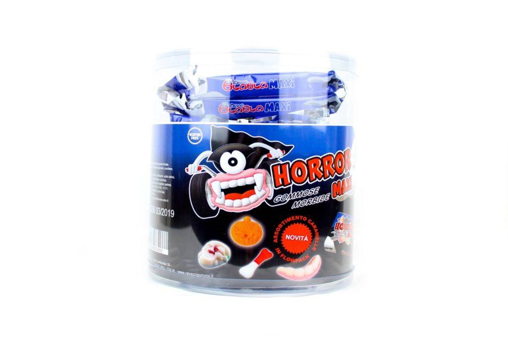 Dolciumi all'ingrosso Halloween per dolcetto scherzetto caramelle gommose assortite senza glutine
