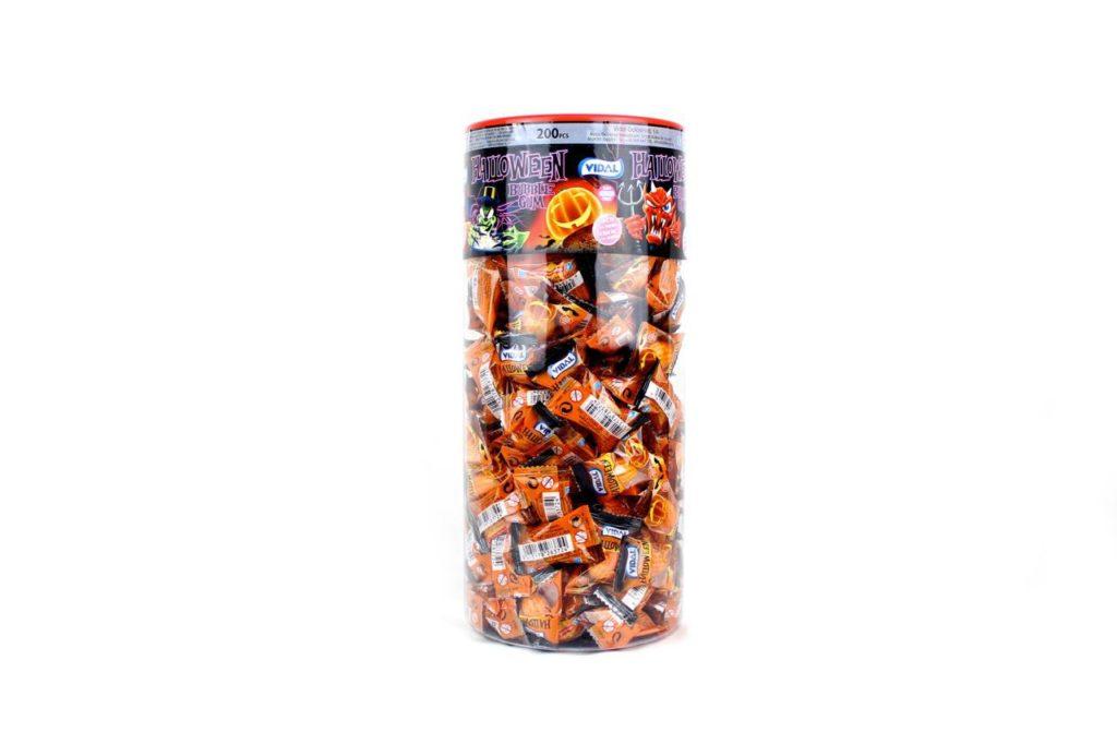 Dolciumi all'ingrosso Halloween per dolcetto scherzetto buble gum senza glutine