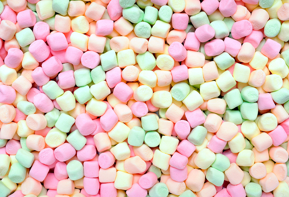 marshmallow ingrosso rigato