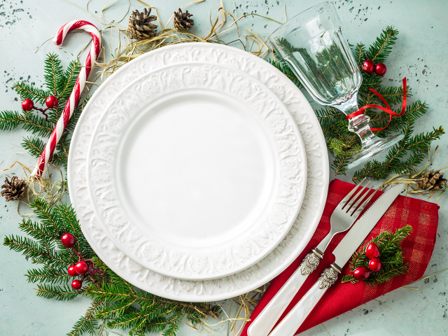 cenone pranzo di Natale Rigato