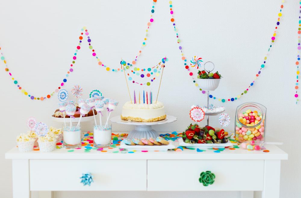 candy table carnevale Rigato