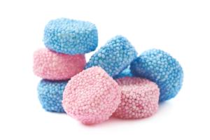 dolciumi colore blu Rigato 2