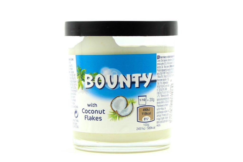 snack spalmabili bounty spread rigato