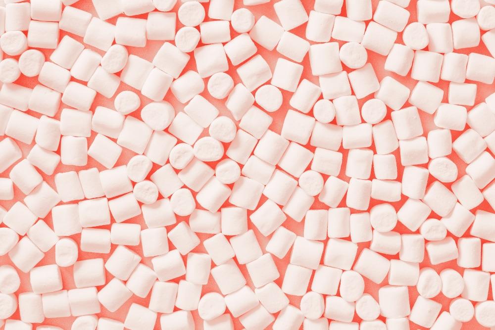 marshmallow Living Coral Rigato ingrosso