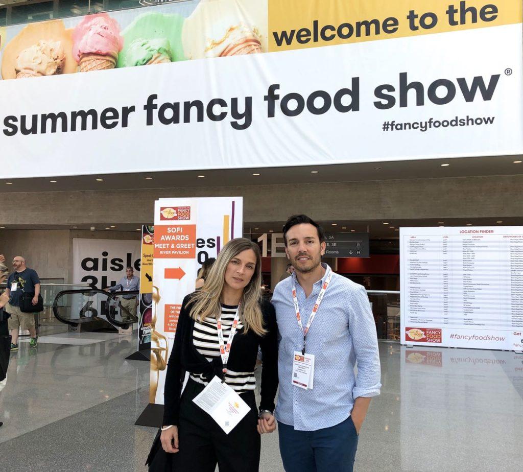 Milo e Alessandra Rigato in visita al summer fancy food show 2019