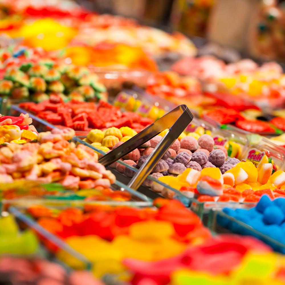 decorazioni caramelle negozi