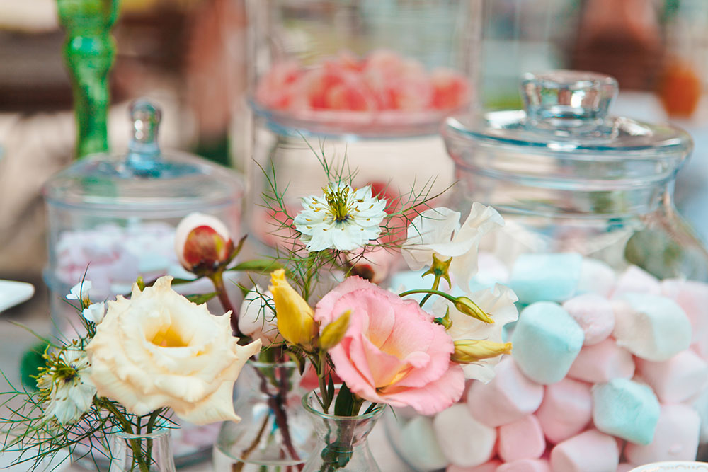 candy table confettate ingrosso wedding