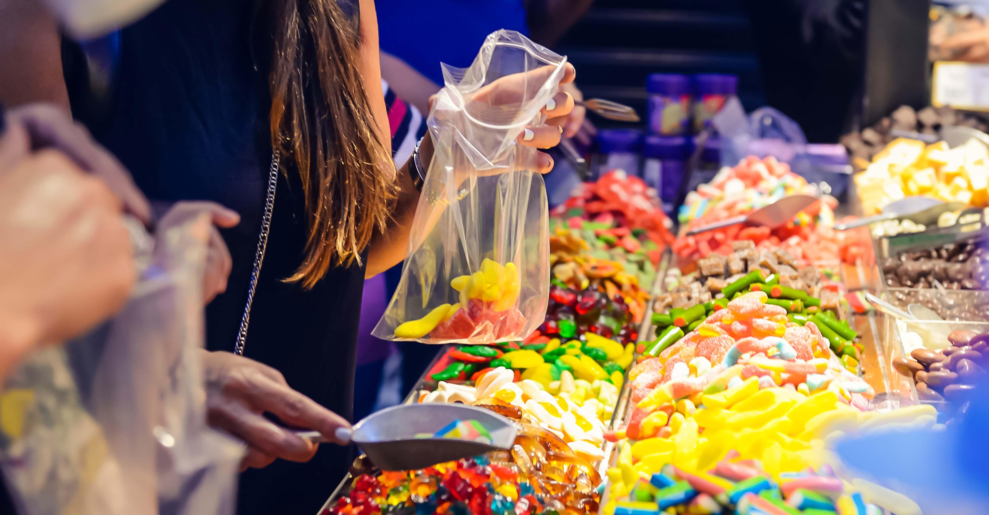 caramelle più vendute ingrosso negozi