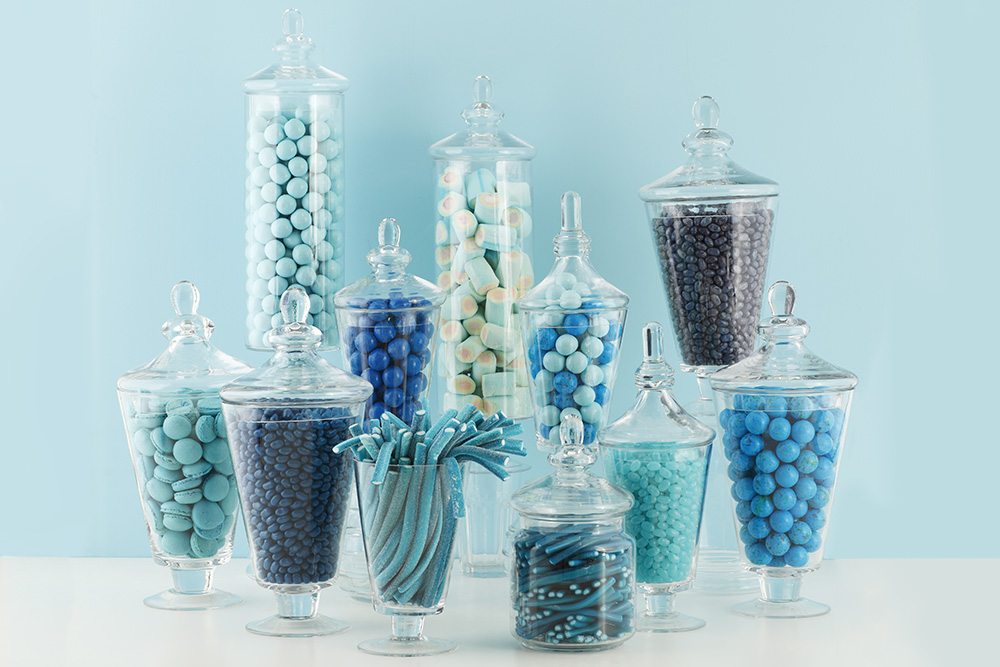 candy table blu pantone
