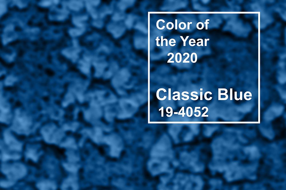 colore anno pantone classic blue