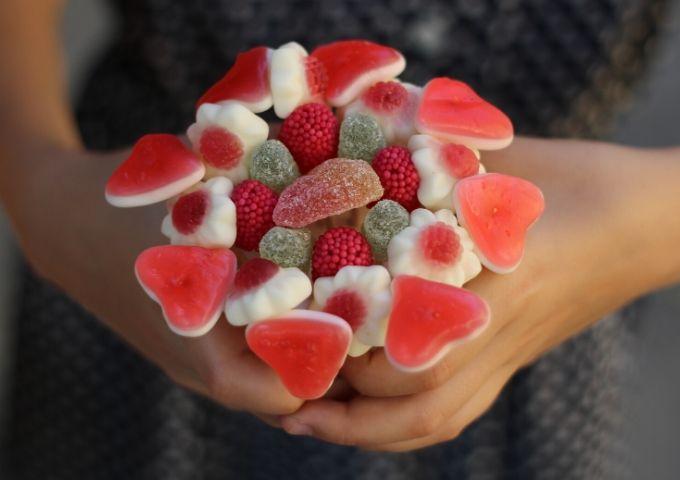 Bouquet di caramelle fai da te