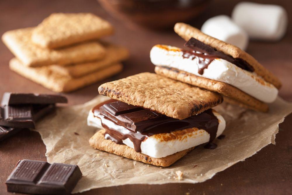 cucinare con i marshmallow s'more fatti in casa