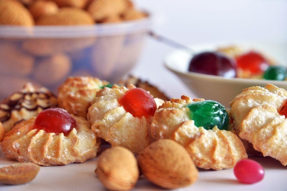 Tipici biscotti in pasta di mandorle siciliana assortiti vendita ingrosso per bar pasticcerie