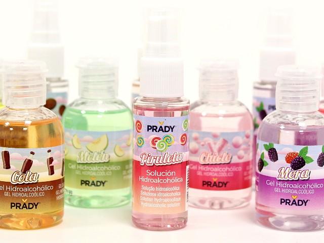 spray e gel igienizzanti mani a soluzione idroalcolica al profumo di caramelle per negozi e attività commerciali vendita all'ingrosso online