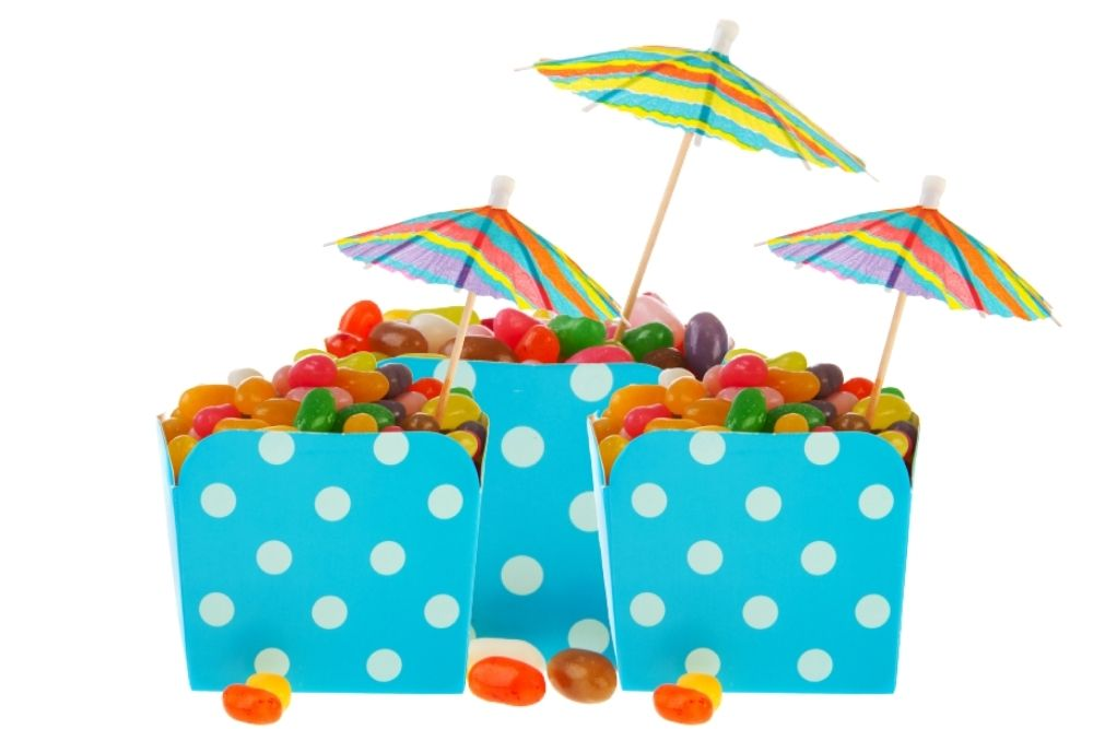 CARAMELLE GOMMOSE ESTATE PARTY FAVORS A TEMA