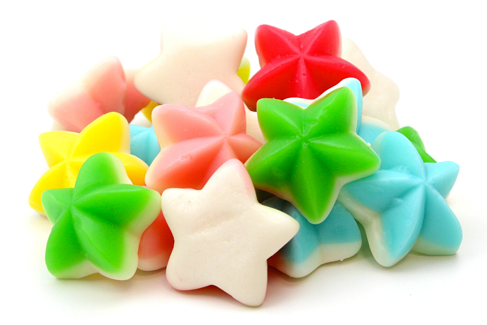 CARAMELLE GOMMOSE ESTIVE STELLE GOMMOSE
