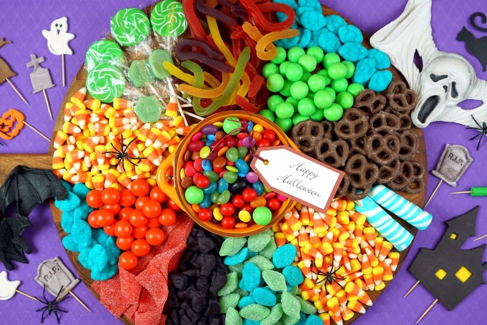 CANDY PLATTER HALLOWEEN INGROSSO CARAMELLE E DOLCIUMI